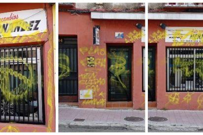 Destrozan el local del cámara de 'Estado de Alarma' que fue señalado por Antonio Maestre