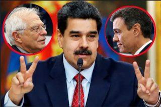 Desvelan el plan de Borrell y Sánchez para legitimar el fraude electoral de Maduro
