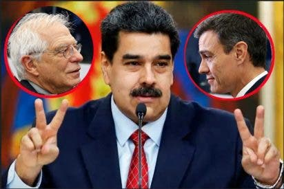 Sánchez y Borrell liderarán el blanqueo del fraude electoral de Maduro desde la embajada española en Caracas