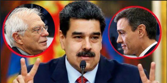 Los sicarios chavistas arrestan a dos empleados de la embajada española en Caracas tras la fuga de Leopoldo López