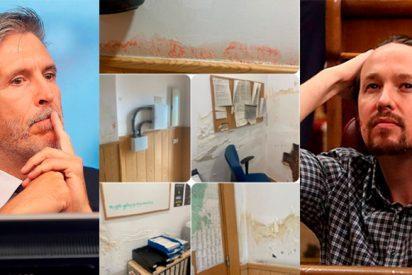 """Marlaska, obligado a cerrar el cuartel de la Guardia Civil que vigila el chalet de Iglesias por sus """"vergonzosas"""" condiciones"""