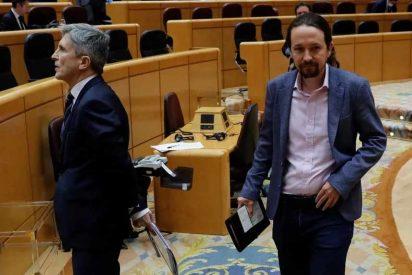 Un informe de la Policía sobre 'okupas' deja al borde de la dimisión a Marlaska y a Pablo Iglesias