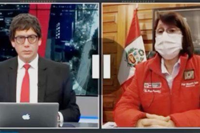 Por chorradas como las que contó en TV, la ministra de Salud peruana podría ser parte del Gobierno de Sánchez