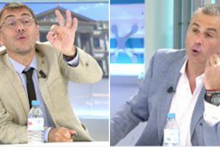 """Épica bronca en Telecinco entre Ortega Smith y Monedero: """"¡Eres más comunista que Lenin y más dictador que Castro!"""""""
