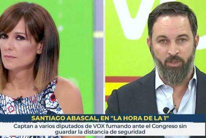 """Abascal revienta la entrevista-trampa de la 'nueva Fortes': """"Ustedes actúan como el NO-DO"""""""