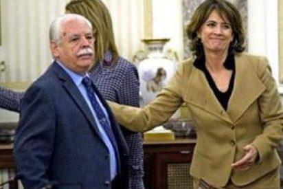 """El Fiscal Navajas, 'a navajazos' con los fiscales para defender a Delgado, la del """"Marlaska maricón"""""""