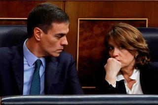 La Fiscalía de Dolores Delgado, la del 'Marlaska, maricón', sale al rescate de Sánchez: no ve delito en la gestión del Gobierno con la pandemia