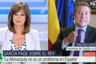 """García-Page da el alto a los insolentes Iglesias y Garzón por atacar al Rey: """"Es lamentable, con la que nos está cayendo encima..."""""""