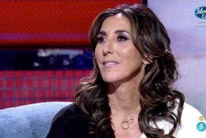 Paz Padilla habla de su marido y machaca en directo a Telecinco en el 'Deluxe'