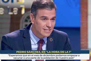 La hora de...Pedro Sánchez: entrevista de guante blanco en TVE de Mónica López y su cohorte de tertulianos 'progres'