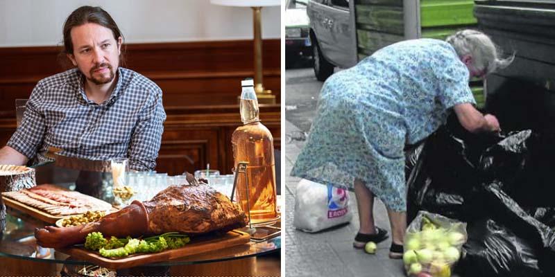 Podemos prepara a los españoles para la hambruna socialista: moción para prohibir la carne los lunes