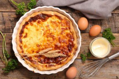 Quiche Lorraine receta original