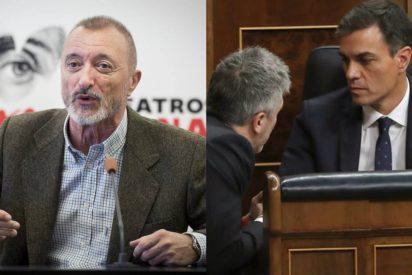 """Pérez Reverte se carga en un minuto a laSexta y a Pedro Sánchez por """"mentirosos sin escrúpulos"""""""