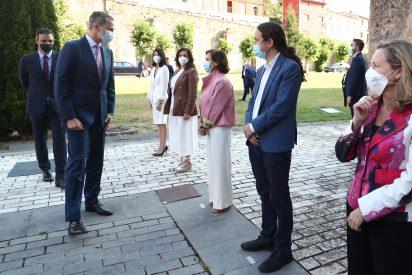 """El Rey Felipe, """"dispuesto a todo"""" contra Podemos al leer el plan de Pablo Iglesias contra su hija Leonor"""