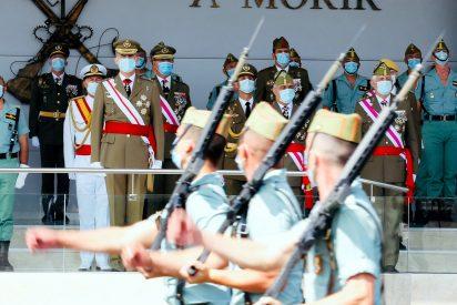 Un mensaje privado de un jefe de La Legión al Rey Felipe 'amenaza' a Iglesias y a medio Gobierno