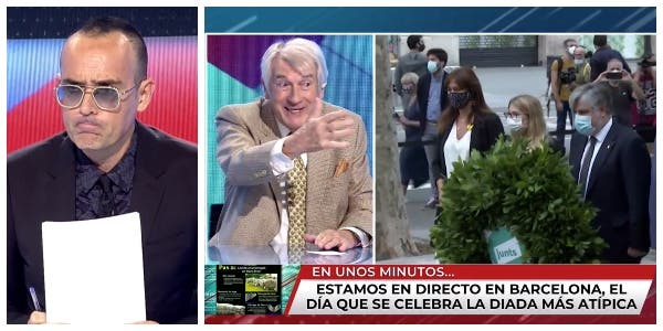 Risto Mejide presume de tener principios y echa al doctor Cabeza de 'TEM' por sus críticas a Cataluña