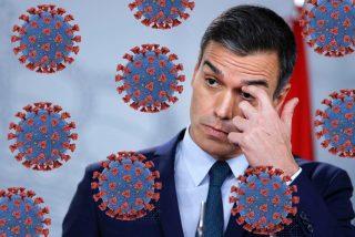 El socialista Sánchez monta un mitin 'prohibido' en una zona confinada de Madrid, arropado por Marlaska
