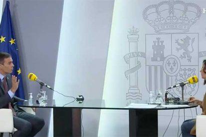 """Sánchez inicia el curso soltando unas trolas que incomodan hasta a Barceló: """"Podemos no vetó a Ciudadanos"""""""