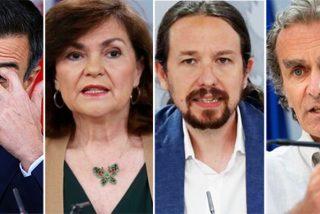 """Isabel San Sebastián ajusta cuentas con el póker de malhechores del Covid en España: """"¡Asco y vergüenza!"""""""