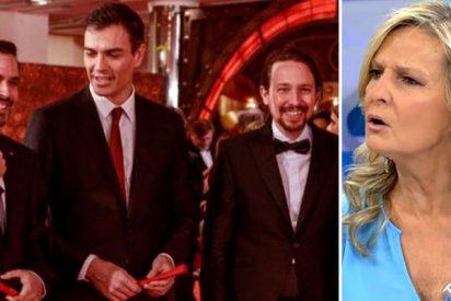 Isabel San Sebastián detalla en ABC los tétricos pasos que siguen Sánchez e Iglesias