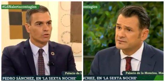 Pedro Sánchez apuñala a Isabel Díaz Ayuso al dudar de sus medidas para frenar la nueva oleada de coronavirus