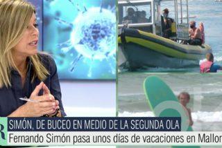 El nuevo vacile de Fernando Simón a los españoles sienta como una patada en el trasero hasta a Esther Palomera