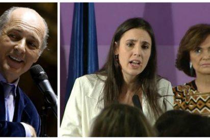José Manuel Soto derriba el falso feminismo de PSOE y Podemos con una pregunta clave