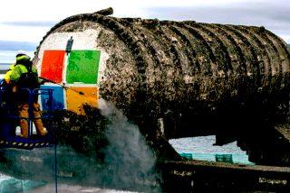 El extravagante experimento de Microsoft: Un centro de datos submarino que sacan a la superficie tras pasar 2 años sumergido