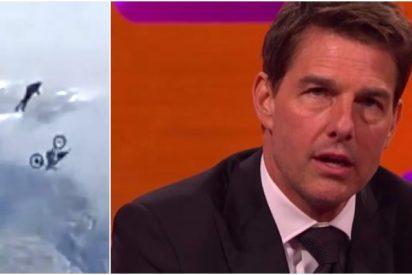 Tom Cruise es una bestia parda: salta al vacío desde un precipicio con 58 años para 'Misión Imposible 7'