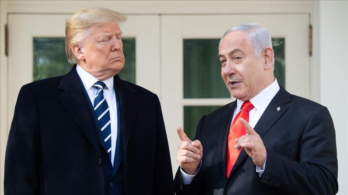 El líder de Israel lleva maletas llenas de ropa sucia para aprovechar la lavandería gratuita de la Casa Blanca