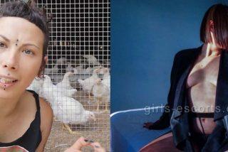 Sorpresón: Descubren que Fani 'La Vegana', que denunció a los gallos por violadores, 'es más puta que las gallinas'