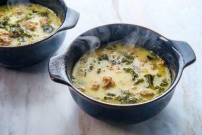 Zuppa toscana o sopa toscana