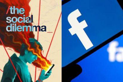 Facebook, indignado con el documental de Netflix 'El dilema de las redes'