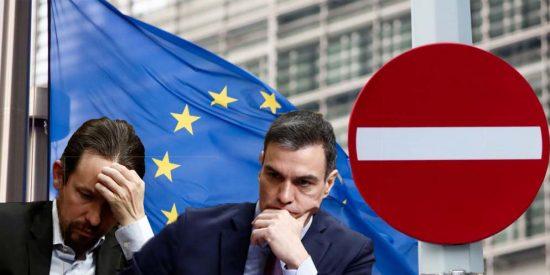 La UE 'echa la bronca' a Pedro Sánchez por su antidemocrático plan de 'asalto' al Poder Judicial