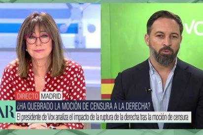 """Abascal confiesa a Ana Rosa que ni perdona ni se olvida de Casado: """"Ya no le llamaremos 'derechita', ahora es solo 'cobarde'"""""""