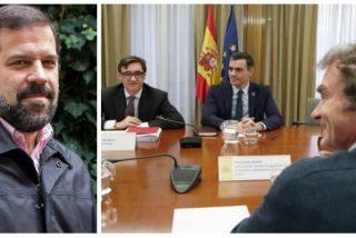 'Triplazo' tuitero de Alfonso Reyes: sacude a 'dejado' Sánchez y a 'fallones' Simón e Illa