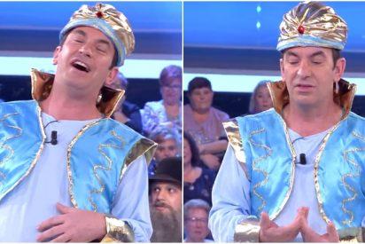 Monumental enfado de Arturo Valls con un concursante de '¡Ahora caigo!' por cometer un fallo estrepitoso