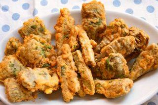 Cómo hacer alcachofas fritas