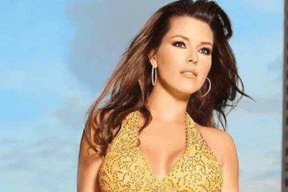La ex Miss Universo Alicia Machado calienta Instagram desde la piscina