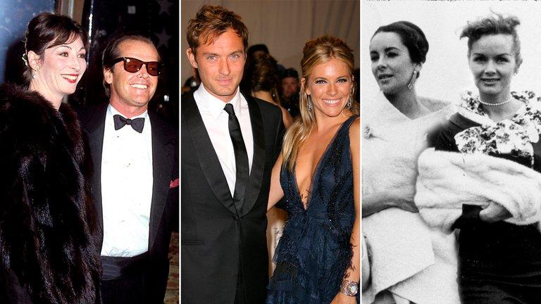 Los triángulos amorosos que conmovieron Hollywood: Traición, pasión y escándalo