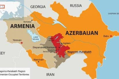 Armenia y Azerbaiyán acuerdan un frágil alto al fuego en Nagorno Karabaj