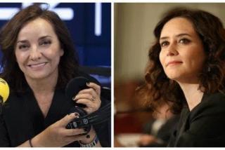 Pepa Bueno arremete como una posesa contra Isabel Díaz Ayuso y la acusa de ser la 'Trump' madrileña
