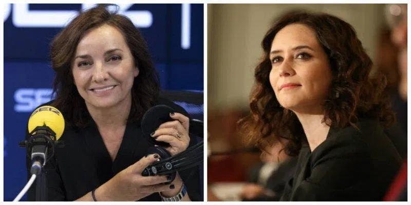 Pepa Bueno incrementa la campaña de acoso de la SER y El País contra Isabel Díaz Ayuso
