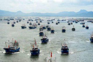Piratas: 340 barcos chinos se acercan a Chile para depredar sus recursos marítimos