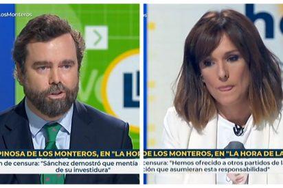Espinosa de los Monteros pone en un brete a 'la nueva Fortes': ¿Darán la misma cobertura a la moción de VOX que a la de Sánchez?
