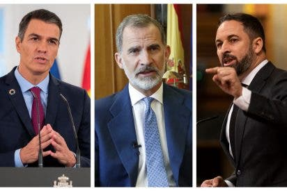 """Santiago Abascal: """"El Gobierno quiere confinar al Rey con la intención de derrocarlo"""""""
