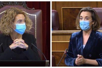 Escuche el momento en que Meritxell Batet permite a los hooligans del Gobierno jalear contra Cuca Gamarra (PP)