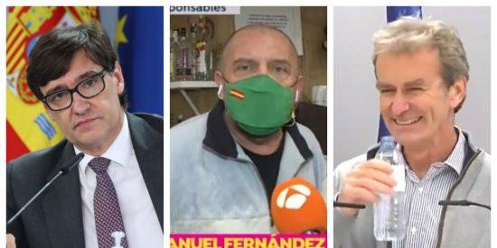 """Un hostelero de Barcelona estalla en directo contra Illa y Simón: """"¡O cerramos todos o no cierra nadie!"""""""
