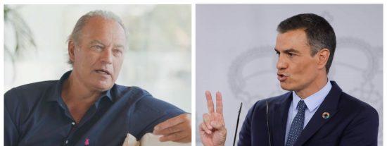"Bertín Osborne: ""Sánchez está cerca de que le den un 'merengazo' en algún lado"""