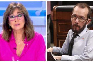 """Ana Rosa no defrauda y liquida a Echenique por sus pufos con la Seguridad Social: """"Me parece muy cutre"""""""